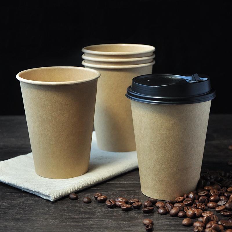 Kraft Single Wall Cups